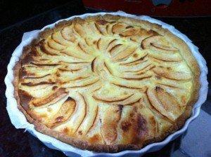 Tarte aux pommes normande  image16-300x224