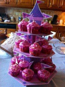 Les cupcakes de princesse pour l'anniversaire d'Eden  image27-224x300